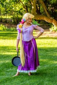 Rapunzel and her friend