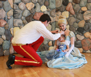 Coronation Ceremony with Cinderella and Prince Charming